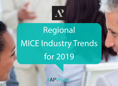 Regional MICE industry trends for 2019