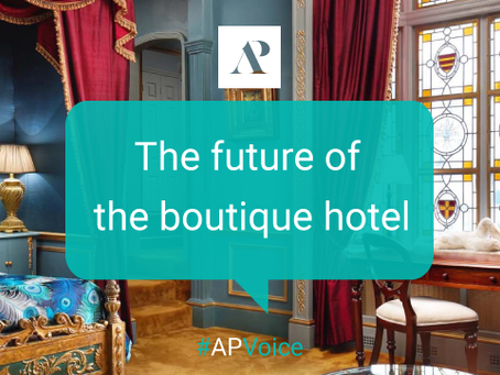 The future of the boutique hotels
