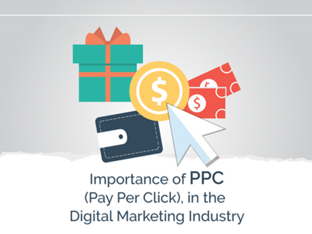 Importance of PPC (Pay Per Click), in the Digital Marketing Industry