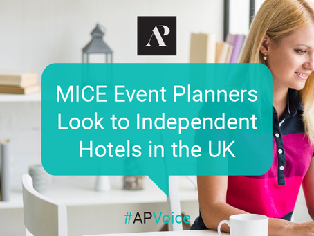 MICE event planners look to independent hotels in the UK