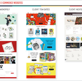 Shopify E-Commerce Websites