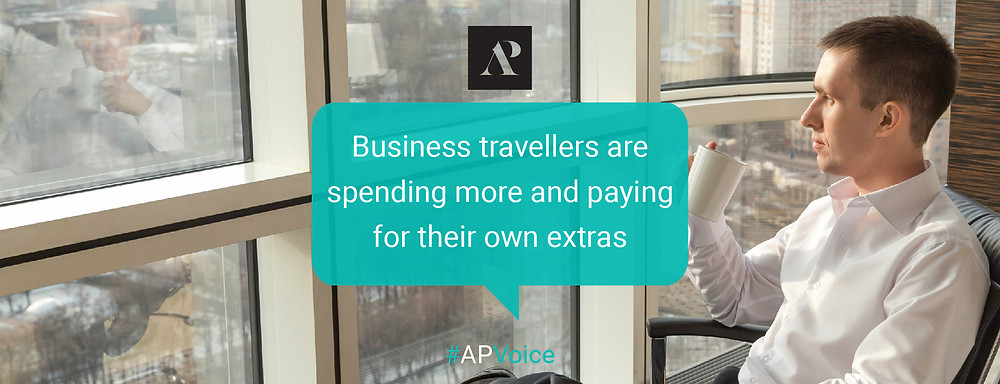 Business travellers are spending more and paying for their own extras - Amistad Partners AP Voice