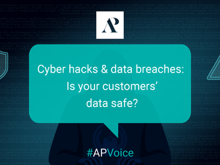 Cyber hacks and data breaches: Is your customers' data safe?