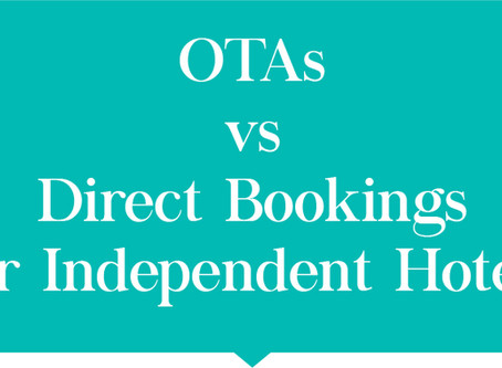 OTAs Vs Direct Bookings for Independent Hotels