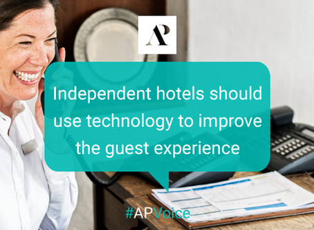 Independent hotels should use technology to improve the guest experience