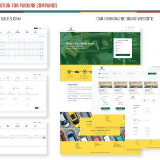 Car Parkings - Sales CRM Solution