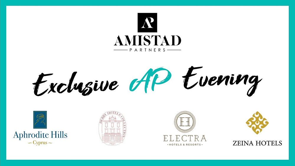 Exclusive Amistad Partners MICE and Leisure Agents Evening in London