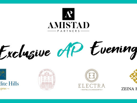 Exclusive Amistad Partners Evening with London Agents