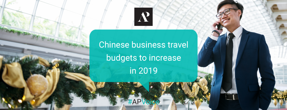 Amistad Partners - Chinese business travel budgets to increase in 2019 - AP Voice