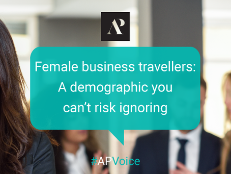 Female business travellers: A demographic you can't risk ignoring