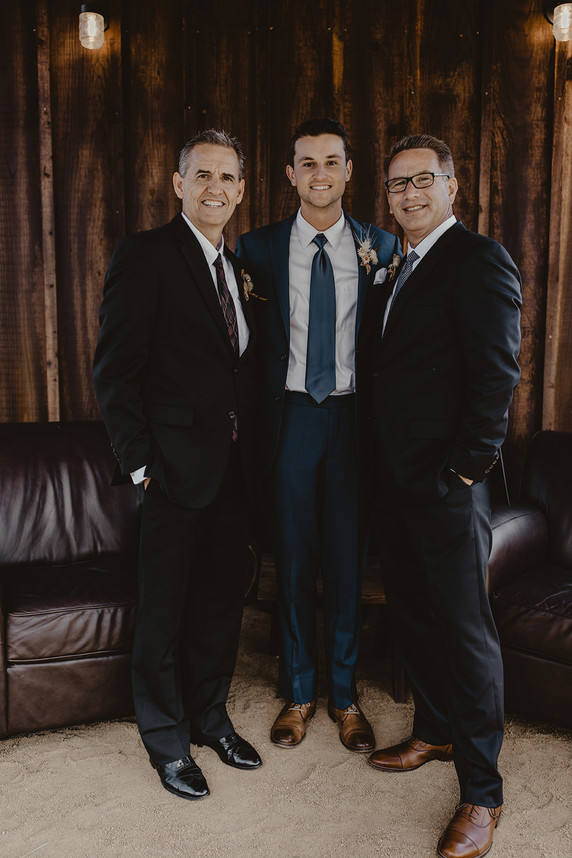 Groom and Dads