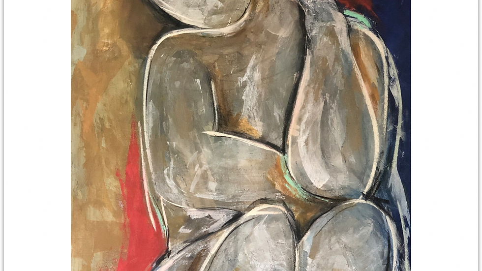 "FINE ART PRINT ""No Point Pretending"" Series (2019)"