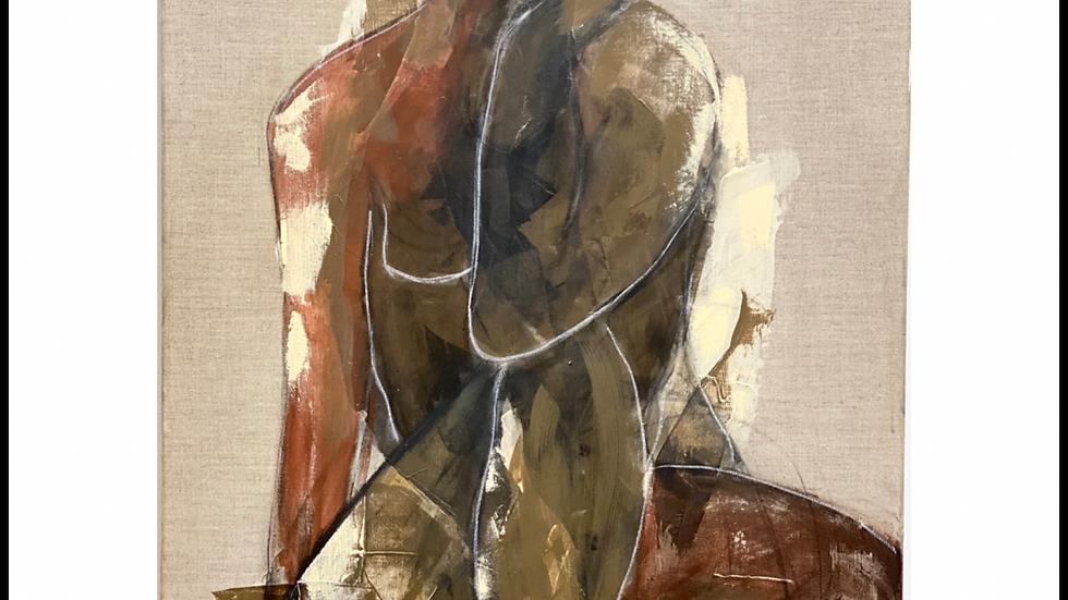 shades of brown fine art print