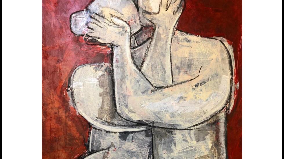 "FINE ART PRINT ""Under The Mistletoe"" (2018)"