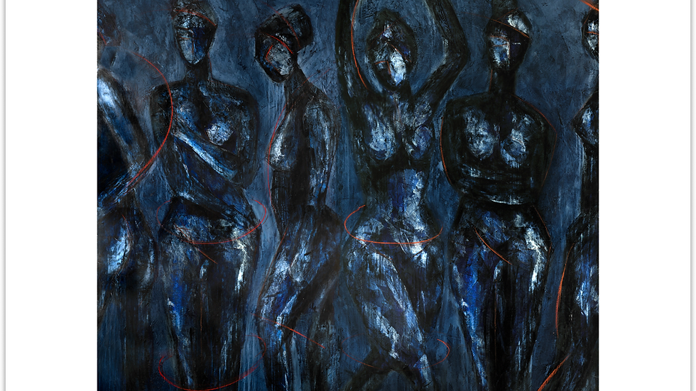 """FINE ART PRINT """"Reinas, Diosas, Musas"""" (2018)"""