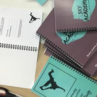 Блокноты на пружинке для семинара или для конференций