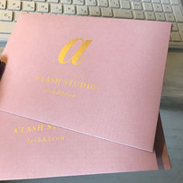 конверты из дизайнерской бумаги с тиснением
