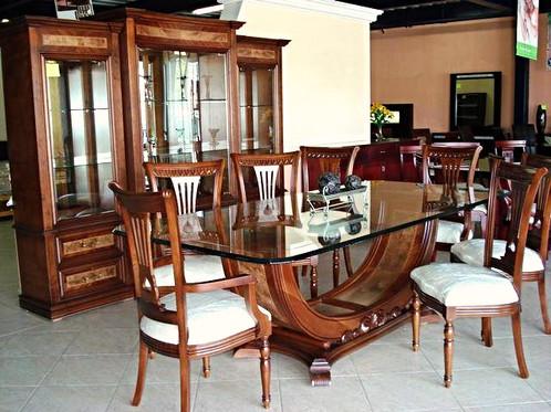Comedor modelo canoa muebles for Modelo comedores madera