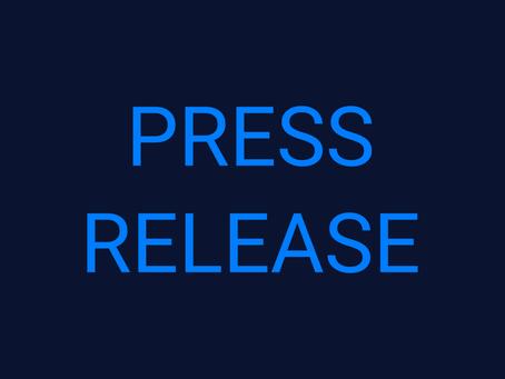 Press Release - 05/01/2021