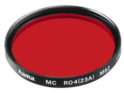 Hama 77667 Color Infrarrojos S/W de Filtro Rojo R 8 25 A (67,0 mm)