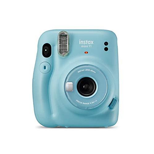 Camara Mini INSTAX 11 XKY-Blue+ 25€ de Regalo para Disfrutar de Dos experiencias