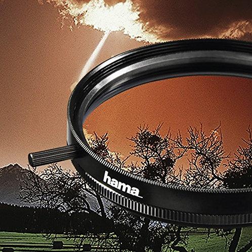 Hama - 81458 - Filtro degradado color tabaco, 58 mm