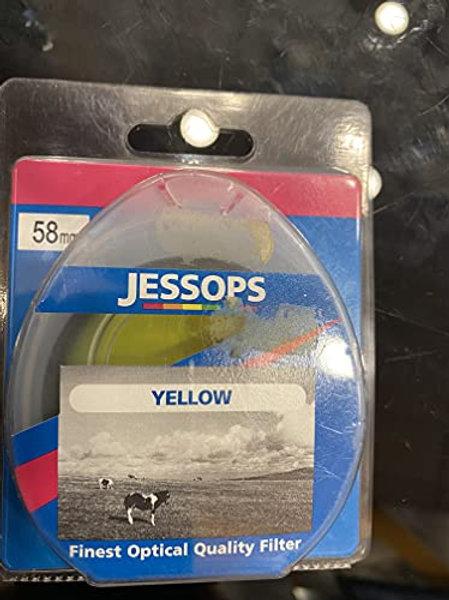 Filtro JESSOPS Yellow para Objetivo DE 58 mm