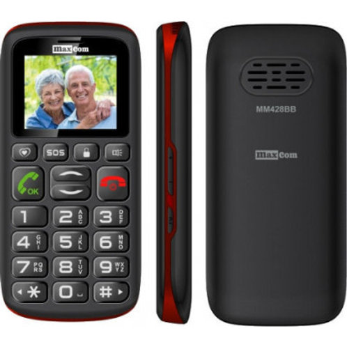 MAXCOM TELÉFONO GSM MM428BB BLACK