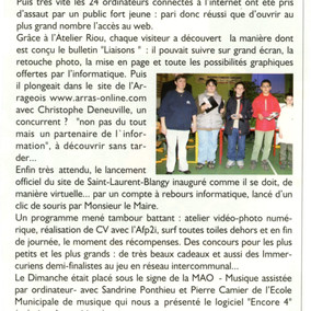 Liaisons n°150, avril 2004