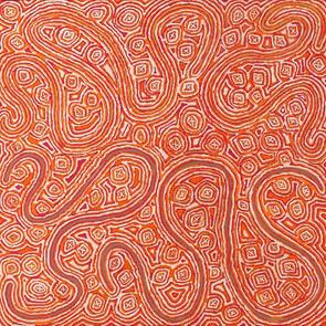 Ngatijirri Jukurrpa (Budgerigar Dreaming) by Valerie Napurrurla Morris