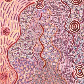 Lappi Lappi Jukurrpa (Lappi Lappi Dreaming) by Alice Nampijinpa Michaels
