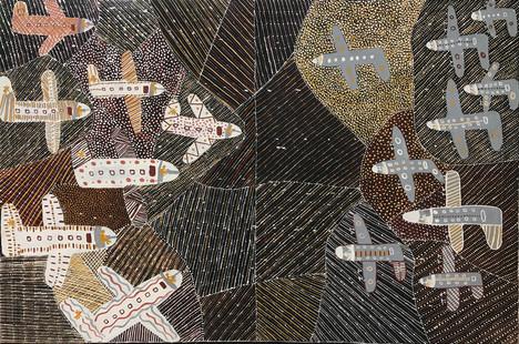 Bombing of Darwin by Susan Wanji Wanji