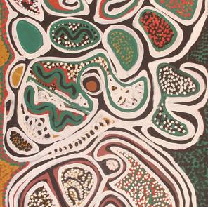 Seed dreaming by Rosie Napurrurla Tasman