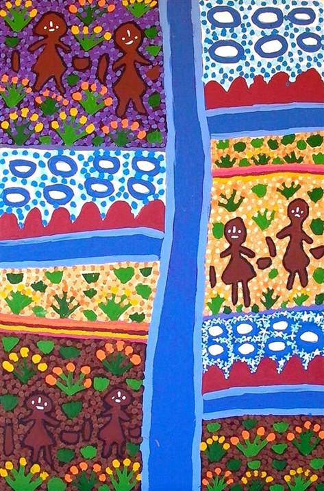 Napaltjarri Sisters by Molly Jugadai