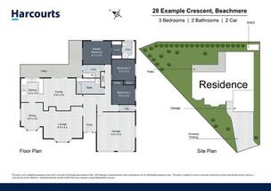 Premium 2D Floor Plan & Site Plan
