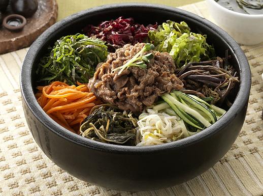 SOGOGI BIBIMBAP   소고기 비빔밥