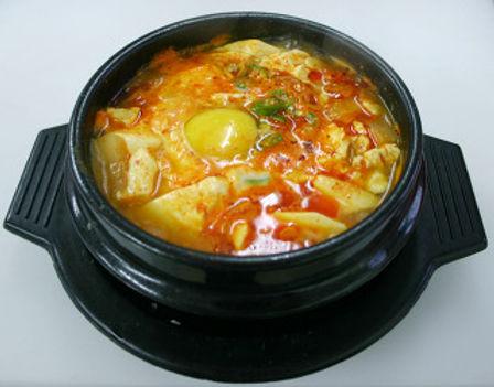 HAEMUL SUNDUBU JJIGAE (SOFT TOFU STEW) 해물순두부 찌개