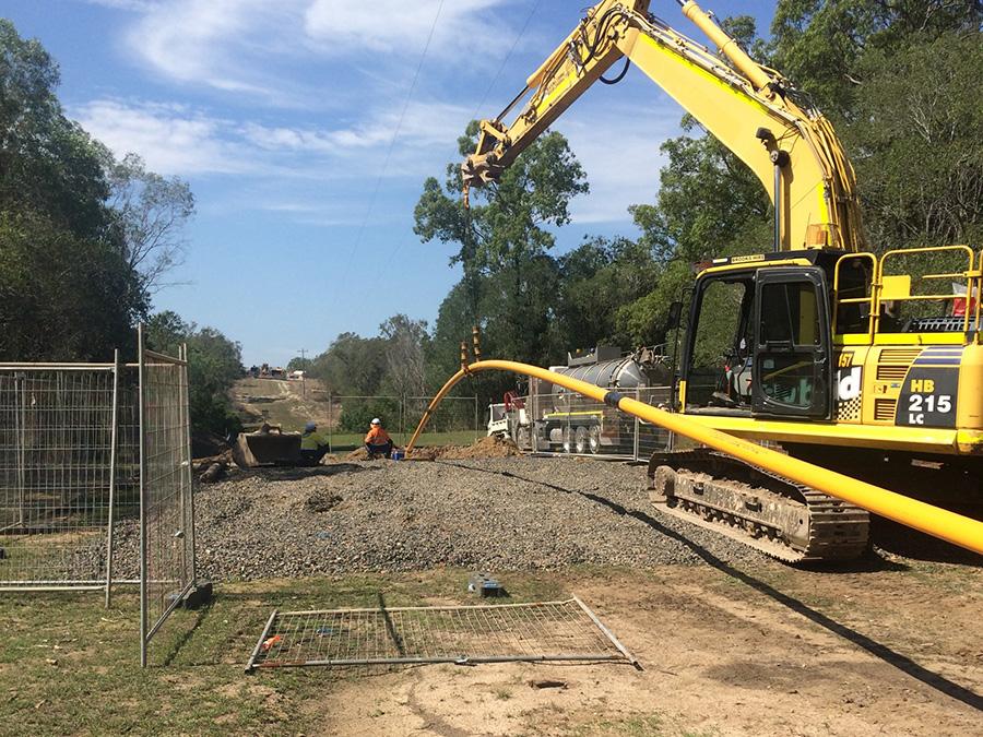 Baffle Creek - pipeline