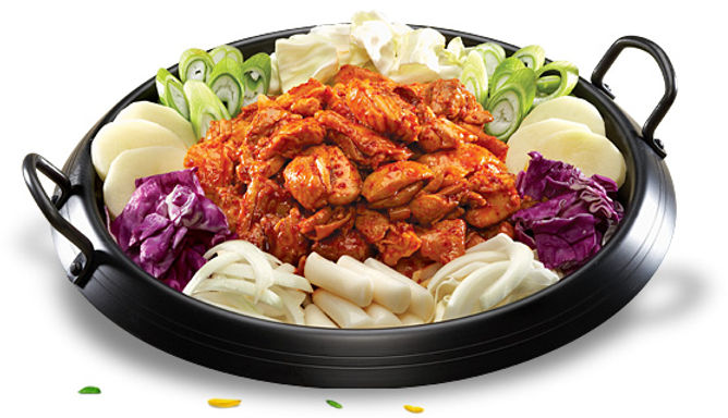 DAK GALBI (CHICKEN BARBECUE) 닭 갈비