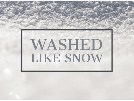 Washed Like Snow