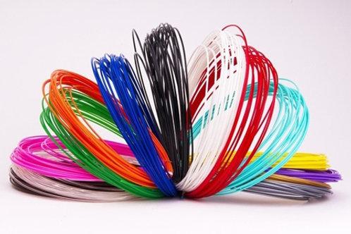 Набір PLA пластику для малювання (15 кольорів)