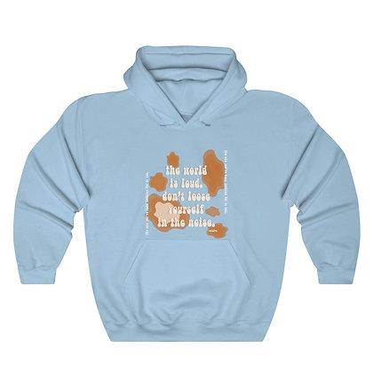 'Static Noise' Hooded Sweatshirt