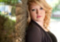 Megan Christine, licensed cosmetologist, hairstlist
