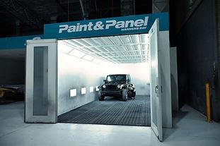 paint & panel paint bay