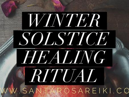 A Winter Solstice Healing Ritual Online Gathering