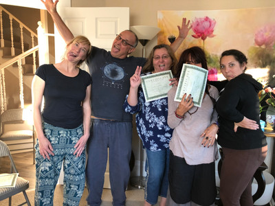 Congrats Reiki Level 2 Students!
