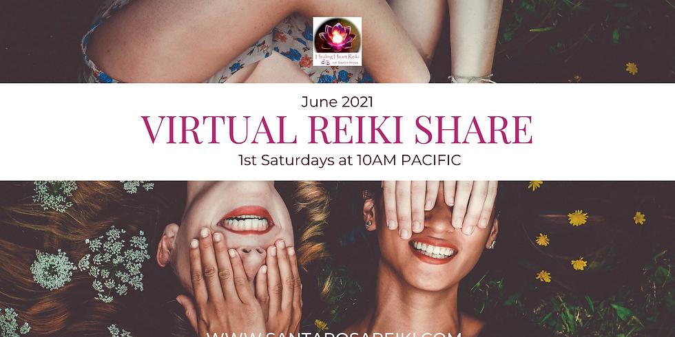 June Reiki Share
