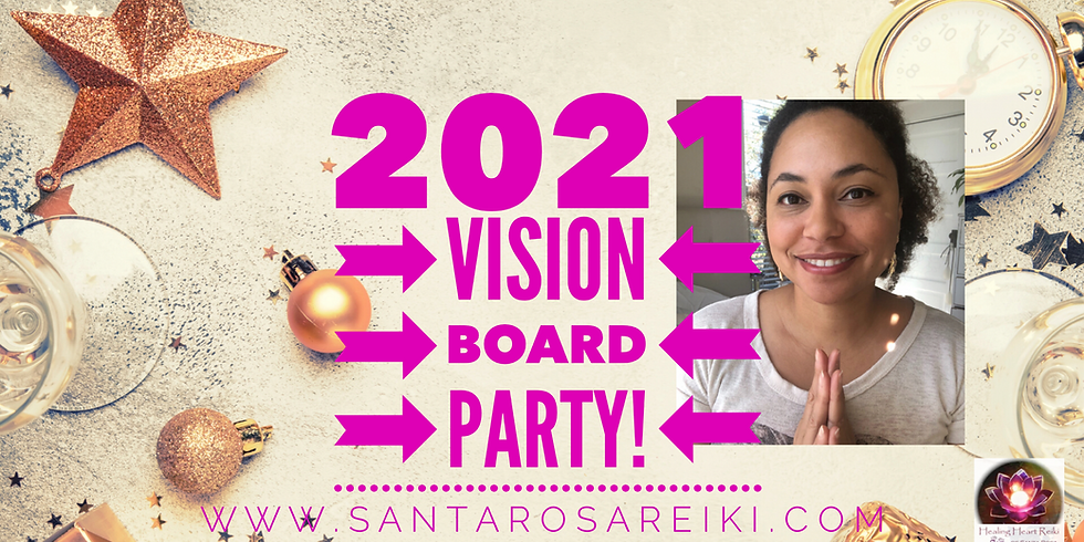 2021 Vision Board Party!!!