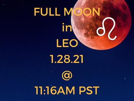 Full Moon In Leo: Moon Wisdom for 1/28