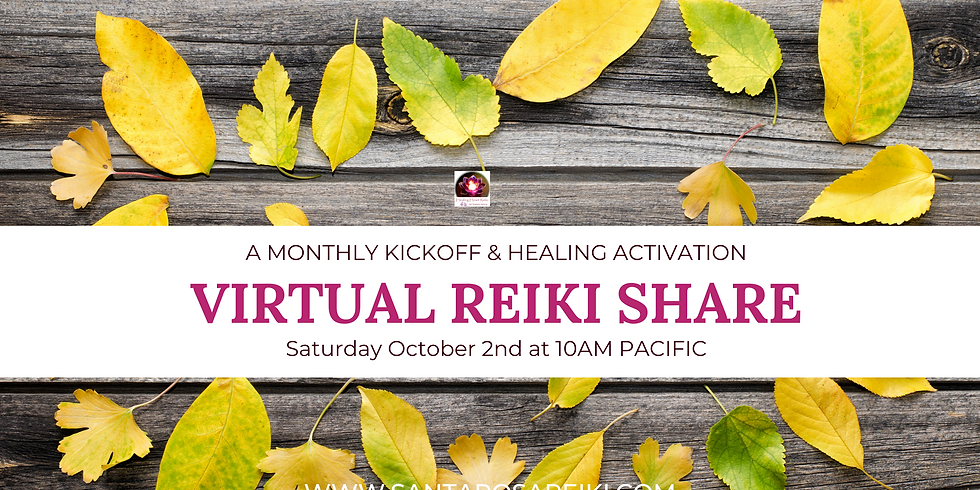 October Reiki Share